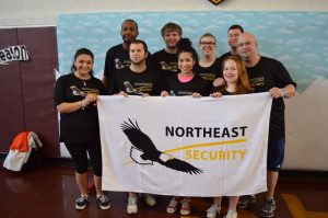 "Northeast Security's Fundraising Efforts for ""The Polar Plunge"""